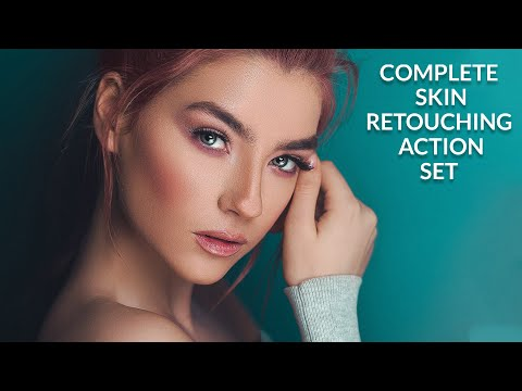 Complete Skin Retouch Actions Pack Free Download
