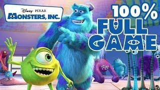 Monsters Inc Walkthrough 100 % FULL GAME Longplay (PS2)