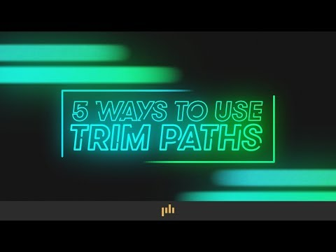 5 Ways To Animate With Trim Paths In After Effects | PremiumBeat.com