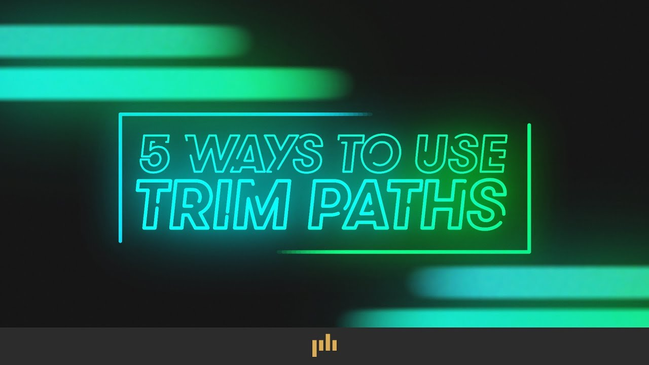 5 Ways to Animate with Trim Paths in Adobe After Effects