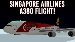 ROBLOX | Singapore Airlines A380 Flight!