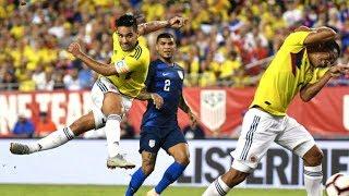USA VS COLUMBIA 2-4 - October, 2018 UEFA NATIONS LEAGUE HIGHLIGHTS