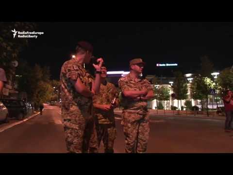 No Casualties After Attack at Kosovo Parliament Building