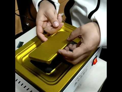 Phone protect film vacuum envelope machine
