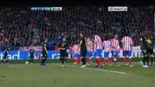 اجمل هدف في الدوري الاسباني