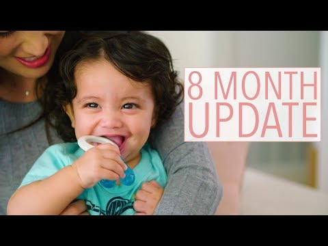 Nikash Update: My Baby is 8 Months Old! | Susan Yara
