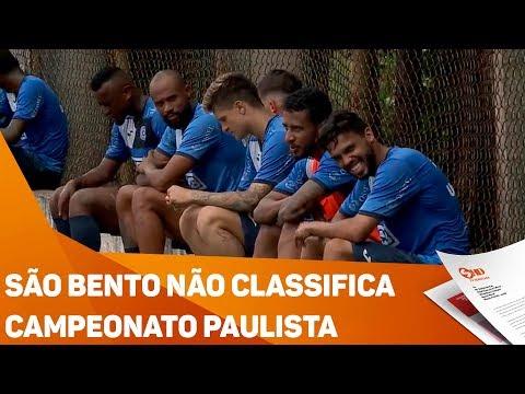 São Bento não classifica no Campeonato Paulista - TV SOROCABA/SBT