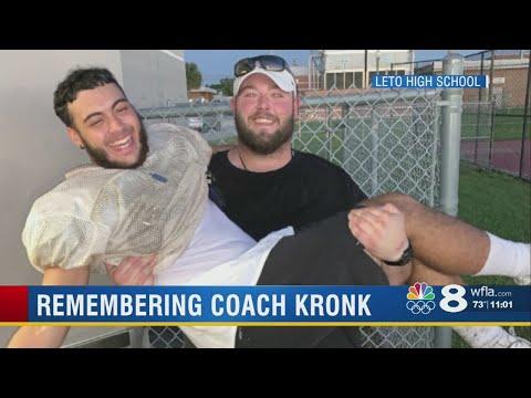 Leto High School football team remembers beloved coach
