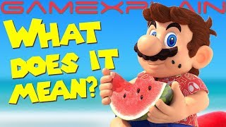 Is Nintendo Teasing Super Mario Sunshine?! Art Sends Fans into Frenzy (& Gives Andre Nightmares!)