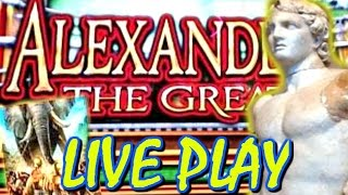 🏆ALEXANDER THE GREAT 🏆 SLOT MACHINE LIVE PLAY MAX BET
