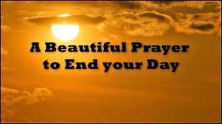 Prayer to End Y๐ur Day | 🙏 God Quotes