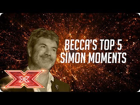 Simon Cowell's Top 5 Moments on The X Factor 2017 By Becca Dudley | The X Factor UK 2017