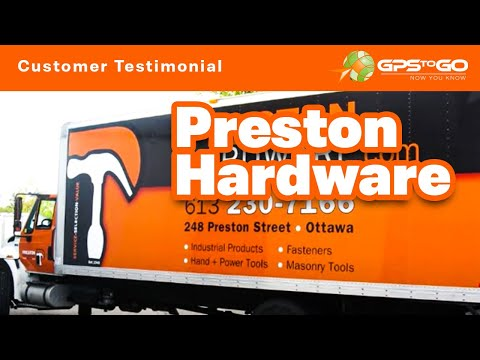 GPS to GO | Preston Hardware