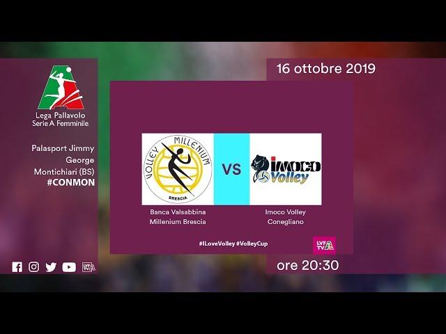Brescia - Conegliano | Speciale | 10^ Giornata | Lega Volley Femminile 2019/20