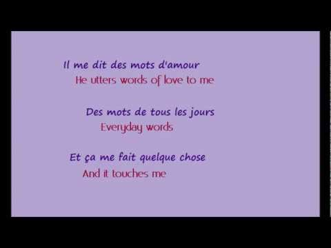 La Vie En Rose (w/ English-French lyrics)