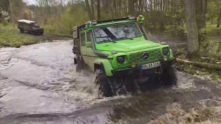 Abenteuer4x4.com / Polen Nord - Offroad Abenteuer Westpommern (rot, Camp)