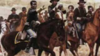 Blacks/Africans/buffalo soldiers kill Native Americans