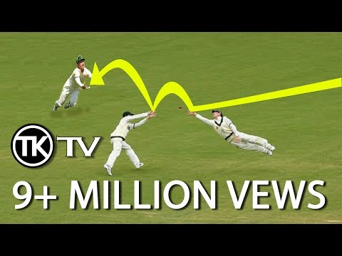cricket's most unexpected catches - accidental catches