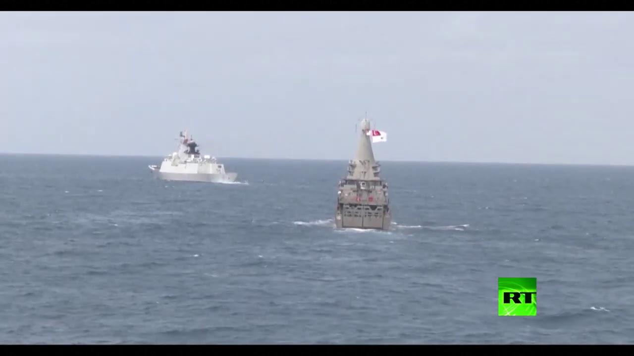 بالفيديو.. مناورات بحرية سنغافورية صينية مشتركة  - نشر قبل 1 ساعة