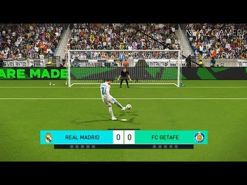 REAL MADRID vs FC GETAFE | Penalty Shootout | PES 2018 Gameplay PC
