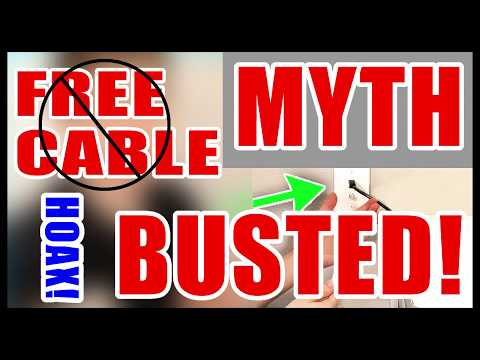 How To Get Free Cable - The Myth Busted