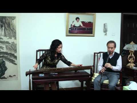 王菲古琴李祥霆箫《平沙落雁》Wang Fei Li Xiangting guqin xiao duet Chinese music