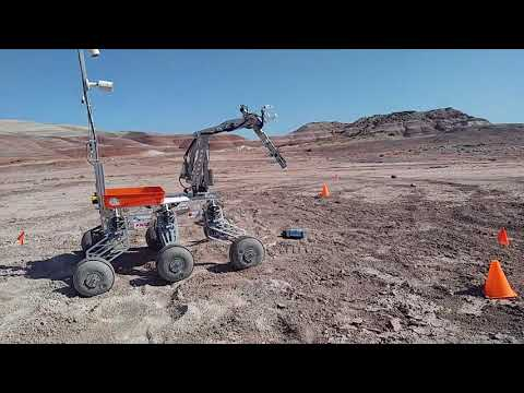ITU Rover Team / Extreme Retreival and Delivery Task / URC 2017