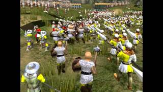Stronghold 2 campaign: The Battle of Aljubarrota part 2: Last charge of the Templars.