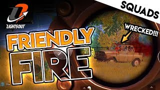 FRIENDLY FIRE VICTORY - LIGHTS OUT SQUADS - PUBG Mobile