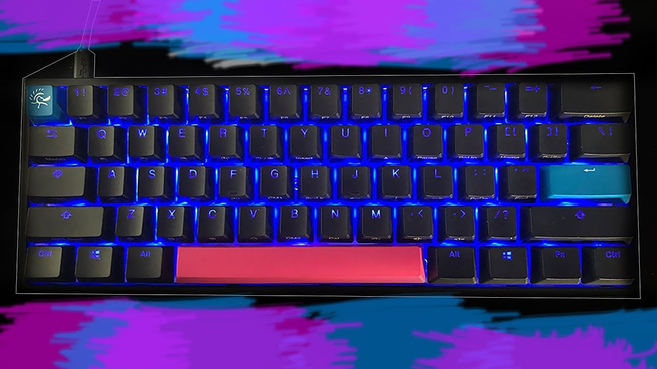 How to customize RGB lights on a Ducky One 2 Mini (Tutorial)