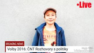 Zprávy ČNT: Rozhovory s politiky
