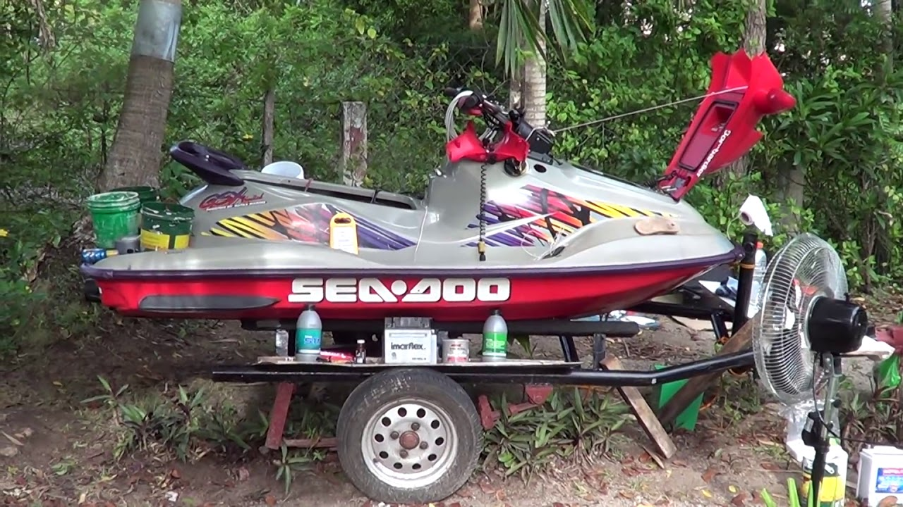947 Seadoo Engine