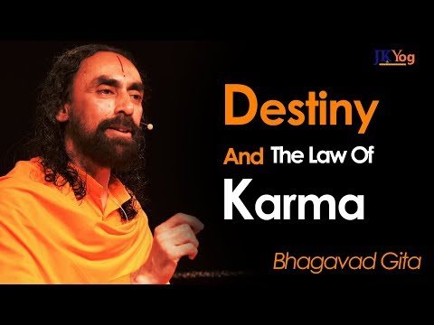 Who Decides Your Future and Destiny in Life? - Law of Karma Explained | Swami Mukundananda
