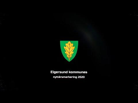Nyttårsmarkering Eigersund 2020