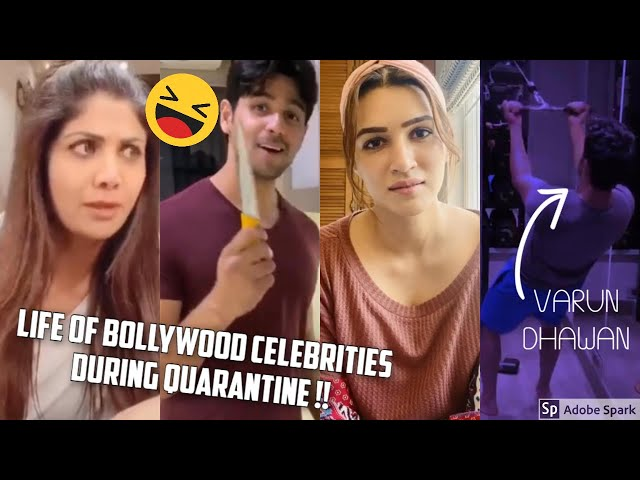 WHAT ARE THE BOLLYWOOD CELEBRITIES DOING DURING THE QUARANTINE LOCKDOWN !!??