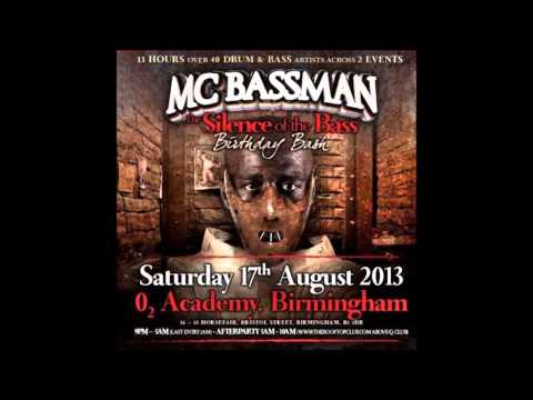 DJ Hazard w/ MC Trigga & Eksman - Silence of the Bass 2013