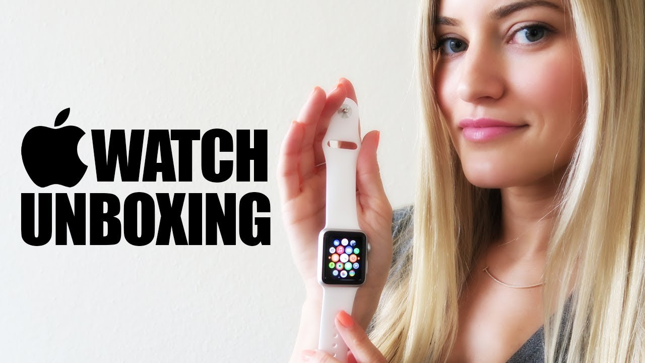 newest b8cdc 1856e [ Unboxing ] Setup Pairing Test Apple Watch With iPhone 6 Plus Gold