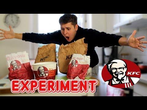 Eine Woche nur KFC ESSEN! 😱 - Selbstexperiment (NIE WIEDER)