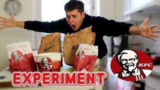 Eine Woche nur KFC ESSEN! 😱🍗 - SELBSTEXPERIMENT (NIE WIEDER😒)