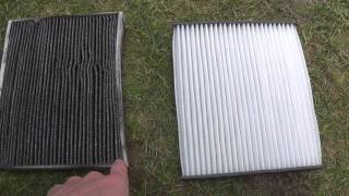 Changing Cabin Air Filter Opel Corsa D 2012