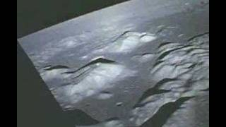 Apollo 17 Landing Site Fly-Over