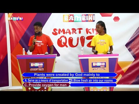 Geneil (Accra College of Education) Vrs Blessing (Rock Academy) On Smart Kids Quiz