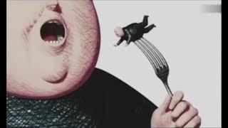 法国黑暗讽刺动画《大肚腩》食物链顶端的美食家,竟被这种生物吃掉!