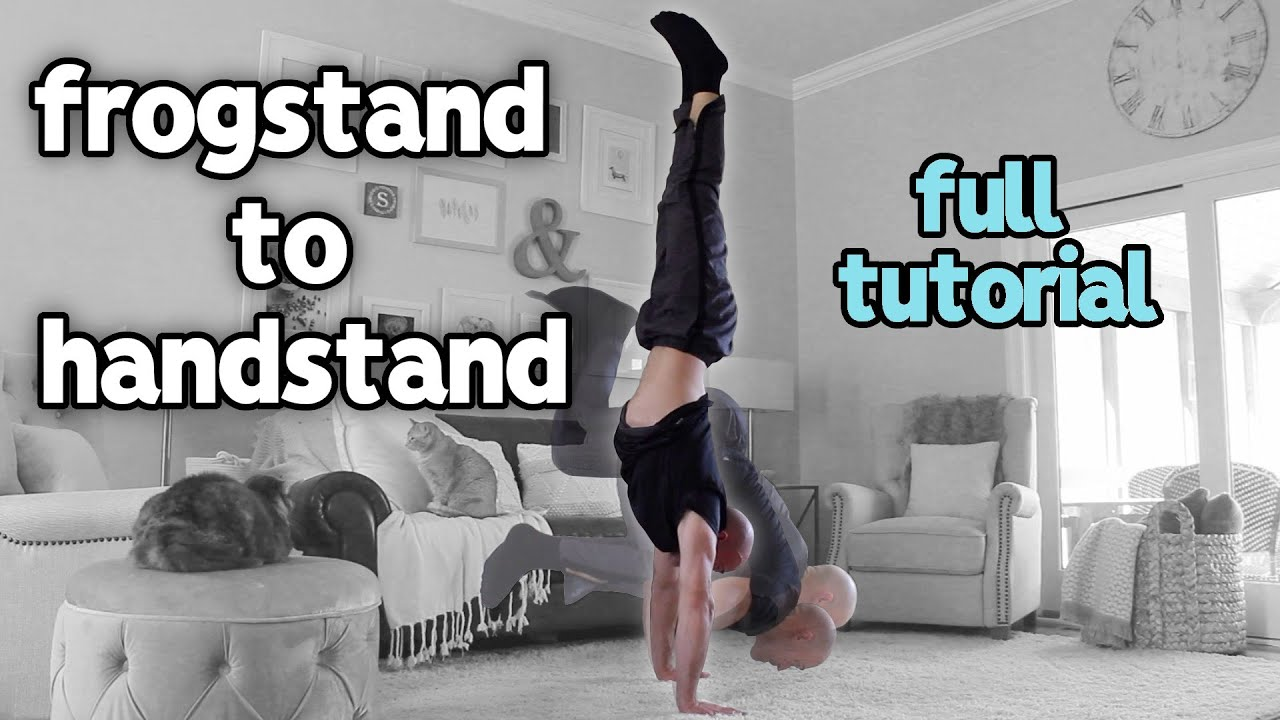 Advanced Frog Stand frogstand to handstand tutorial