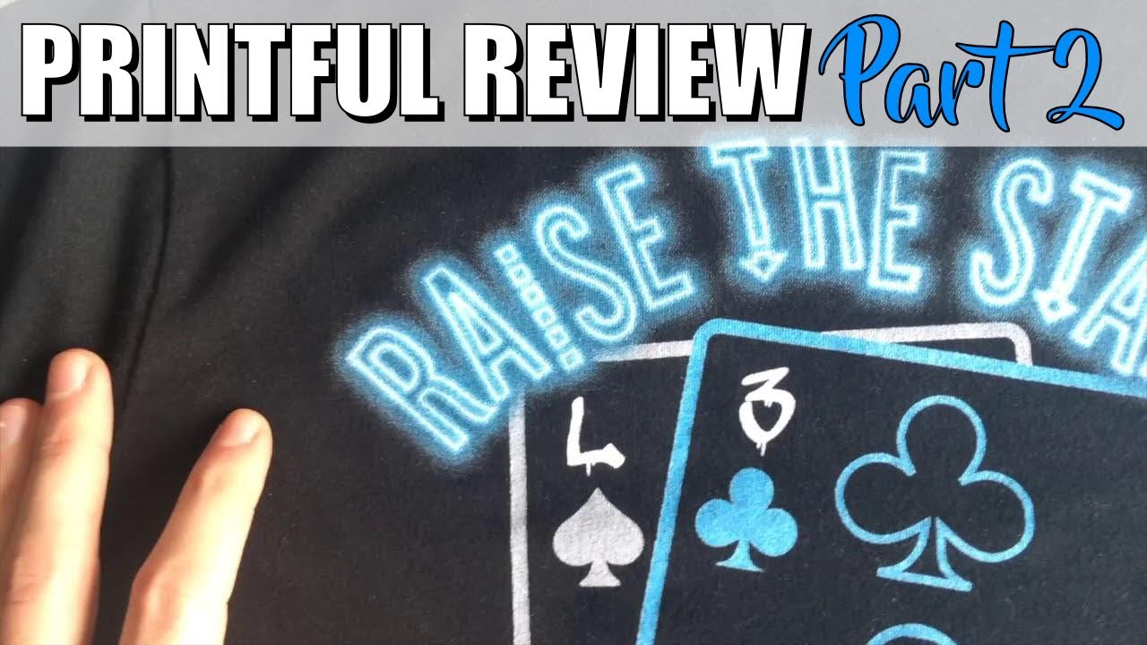Printful Shirts (After A Few Washes) + Custom Size Tags | Printful Review  Part 2