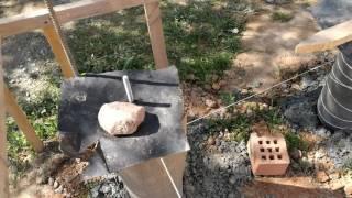 видео Свайный фундамент для дома из бруса: простой надёжный