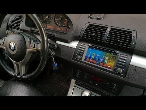 Android-магнитола для BMW X5 E53 со штатным DSP-усилителем