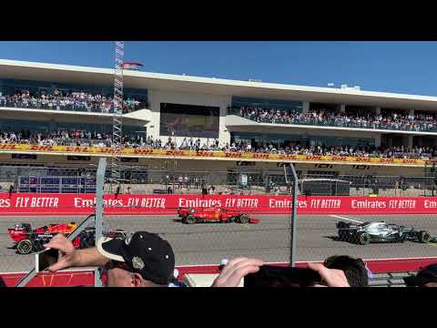 F1 USGP 2019 COTA Austin TX