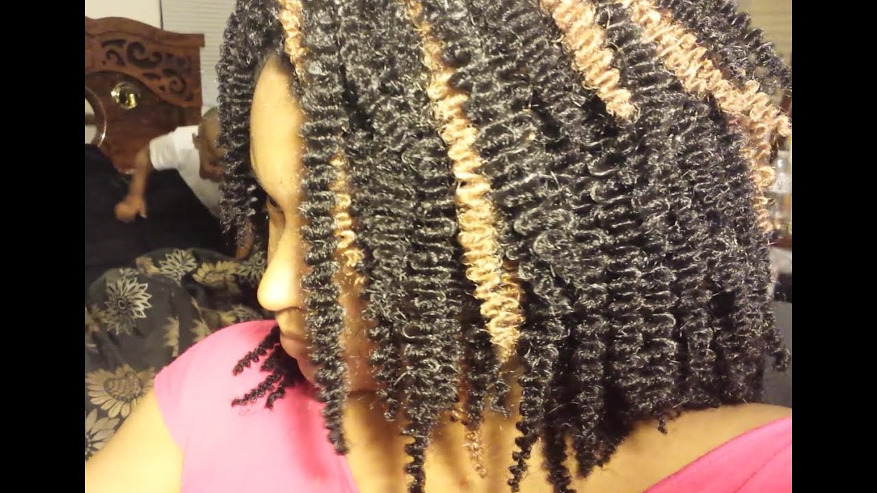 Crochet Braids Ghana : Crochet Wig using Ghana Twist hair 4-18-15 - YouTube
