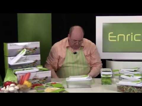 Product Video Enrico alles in 1 hakker mandoline en rasp - productvideo laten maken met presentator